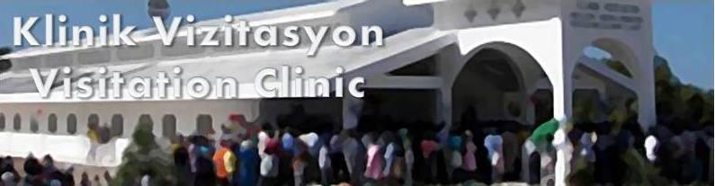 Klinik Vizitasyon, Haiti