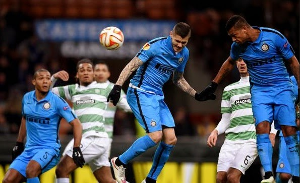 Inter Milan 1-0 Celtic (Agg 4-3)
