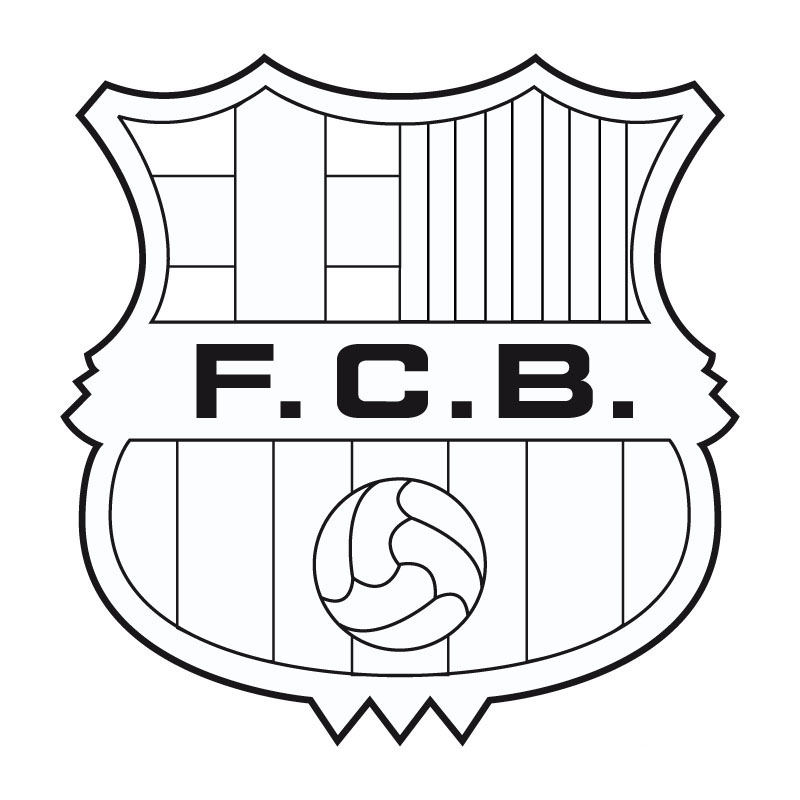 coloring pages barcelona fc schedule - photo#13