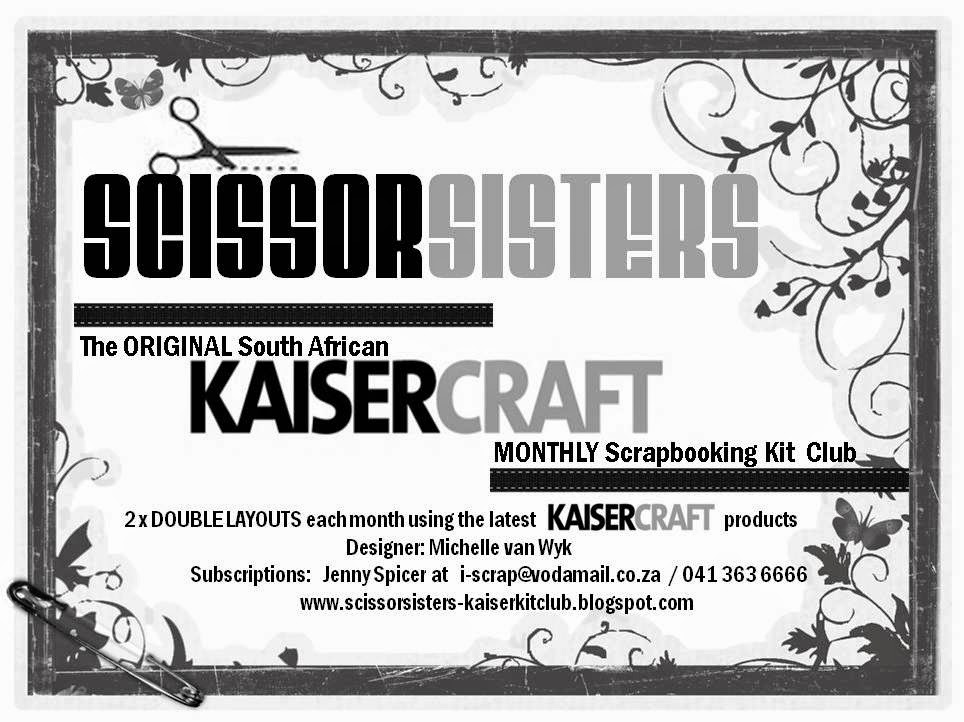 SCISSOR SISTERS KAISERCRAFT KIT CLUB