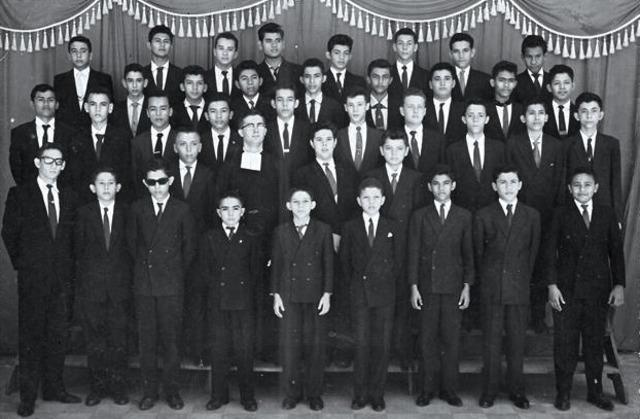PROMOCION SEGUNDO AÑO DE SECUNDARIA 1961-1962