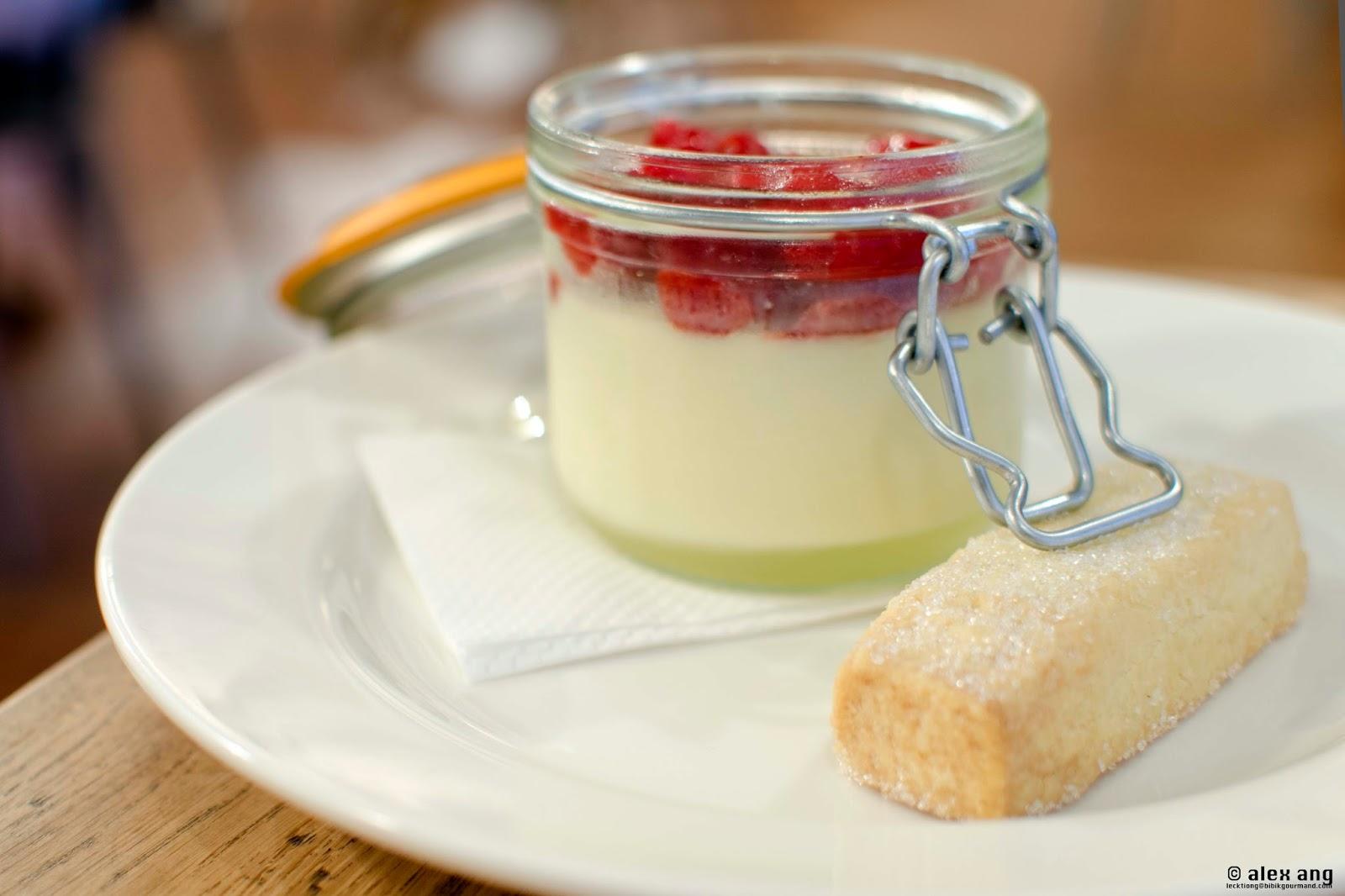 posset with berries shortbread lemon posset good food ireland lemon ...