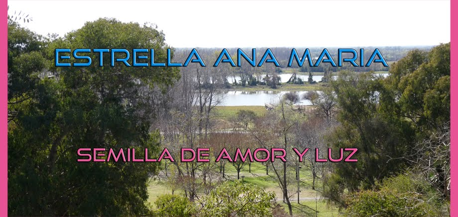 ESTRELLA ANA MARIA - SEMILLA DE AMOR Y LUZ