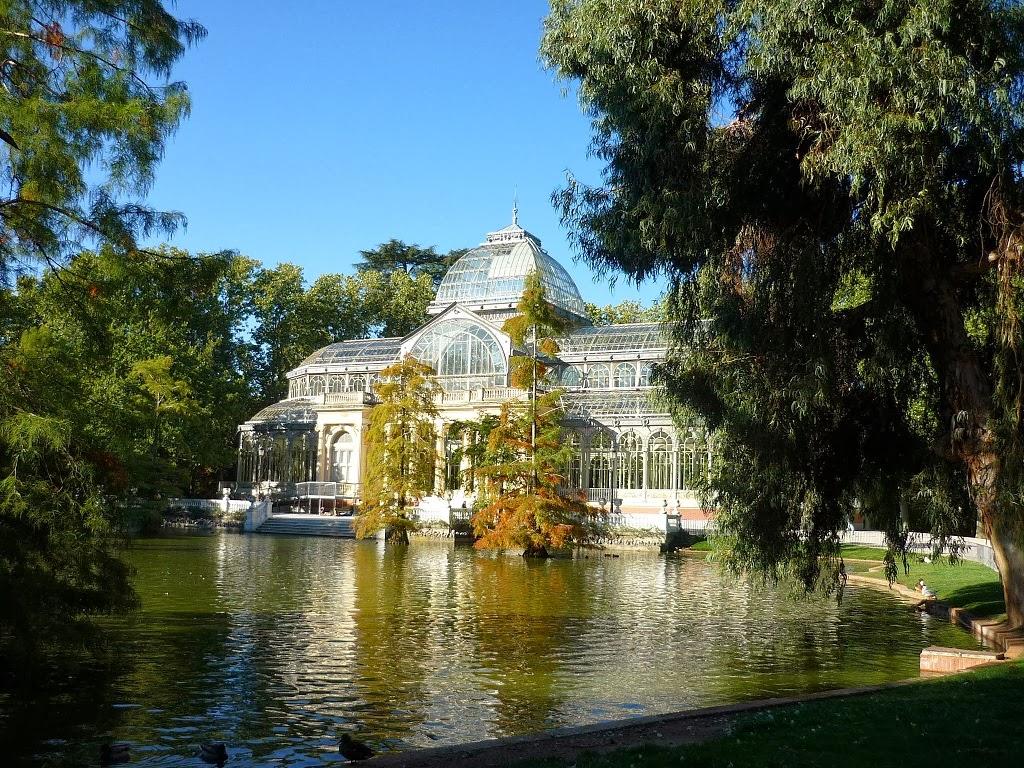 Blog Go Tandem - Palacio de Cristal Retiro