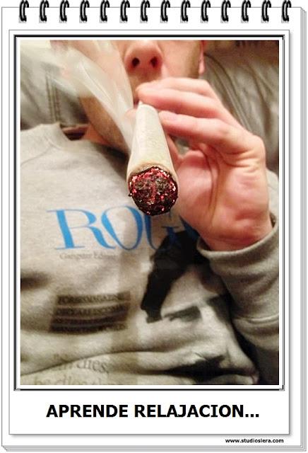 fumando canabis
