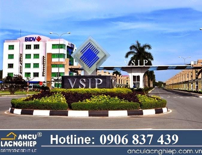 Bán đất Việt Sing, VSIP1, tiện Kd, buôn bán, xây trọ
