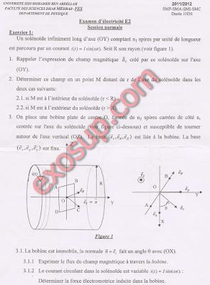 Dhar Mahraz Fès électromagnétisme smp s3 fsdm