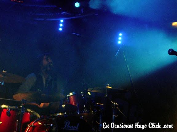 Ariel Rot y Sidonie en concierto en sala penelope de madrid - desconcietos