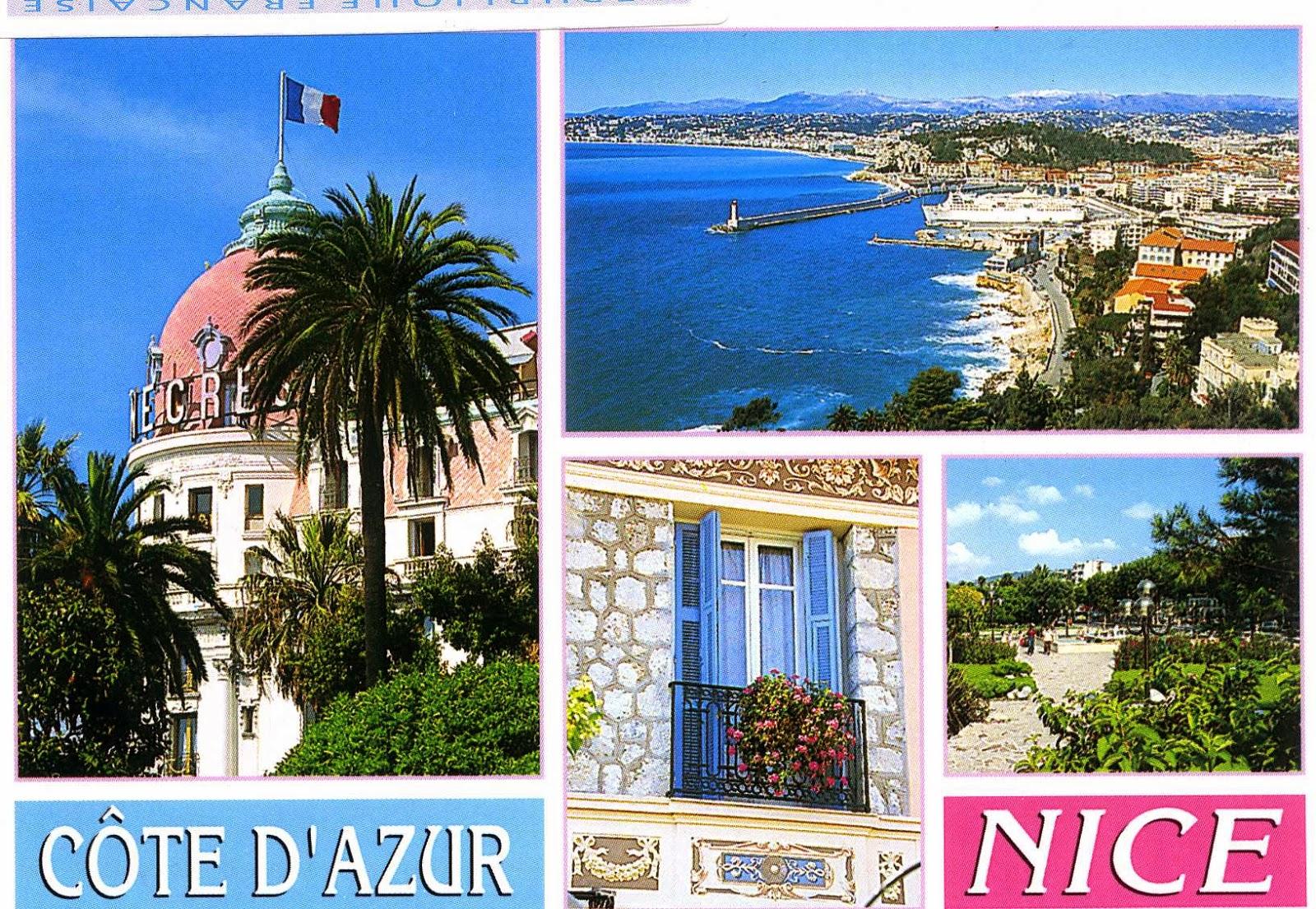 Luna Students Room Postcard From Cote DAzur Nice France