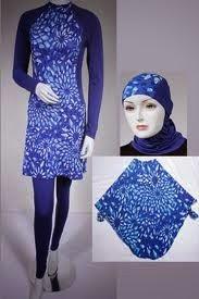 cara memakai jilbab renang