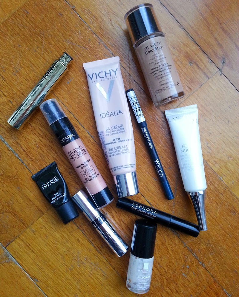 prodotti finiti 2015, empties, make-up