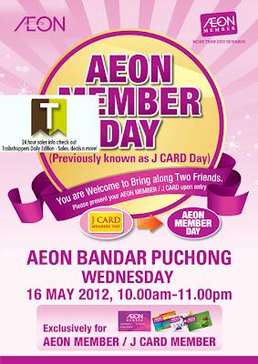 AEON Member Day Puchong