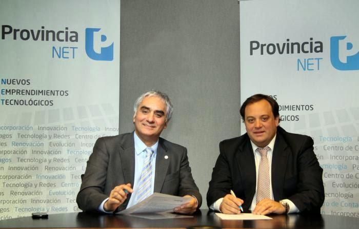 Firman acuerdo de cooperación entre Secretaría General y Provincia NET