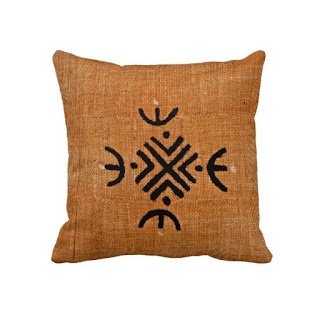 African home decor accent throw pillow