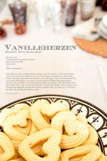 Amalie loves Denmark Vanilleherzen von TineKHome