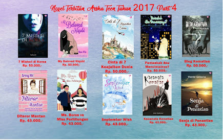 Novel Terbitan Arsha Teen Tahun 2017 Part IV