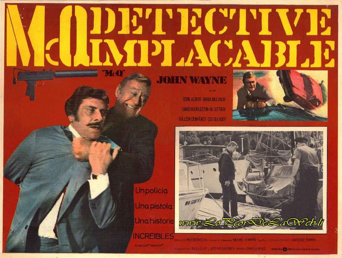 McQ (1974 / Policial / John Wayne)