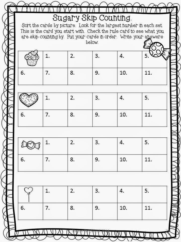 Free math worksheets counting to 1000