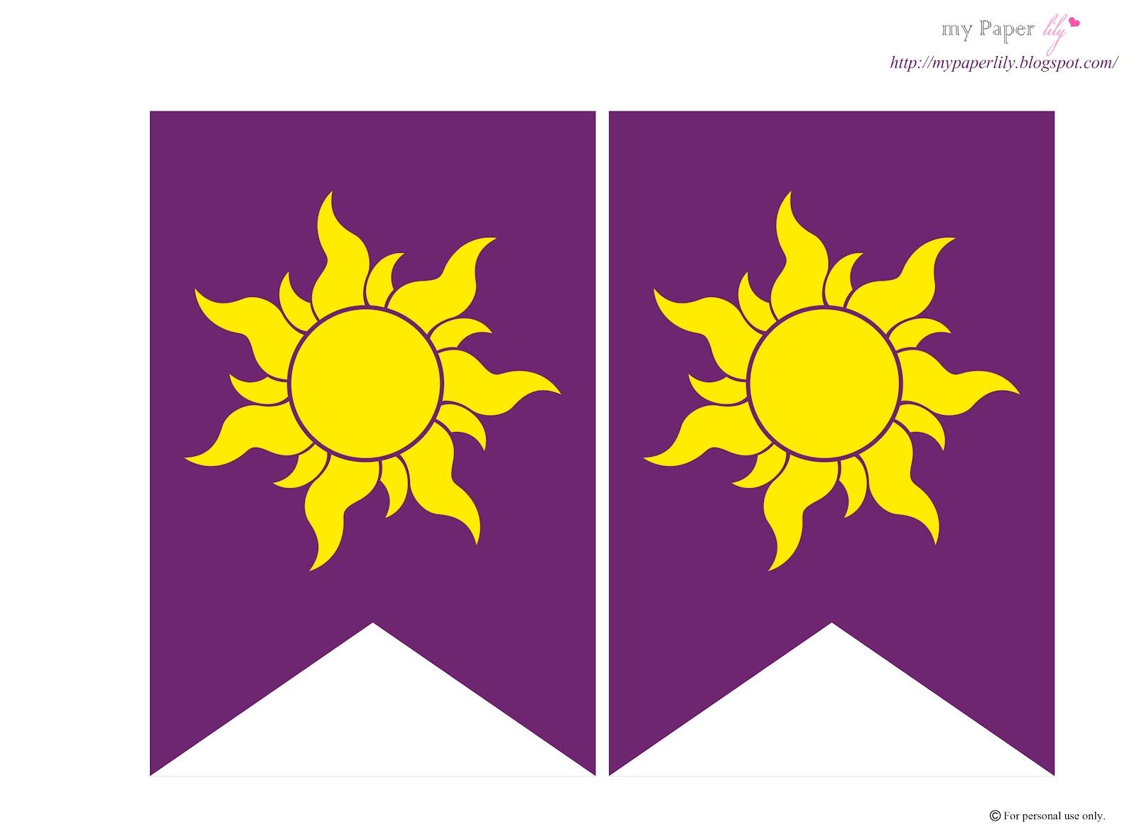 Флаг солнца из рапунцель запутанная история