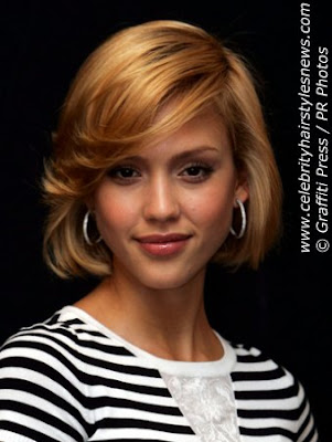 short haircuts jessica alba. Jessica Alba Short Hairstyle