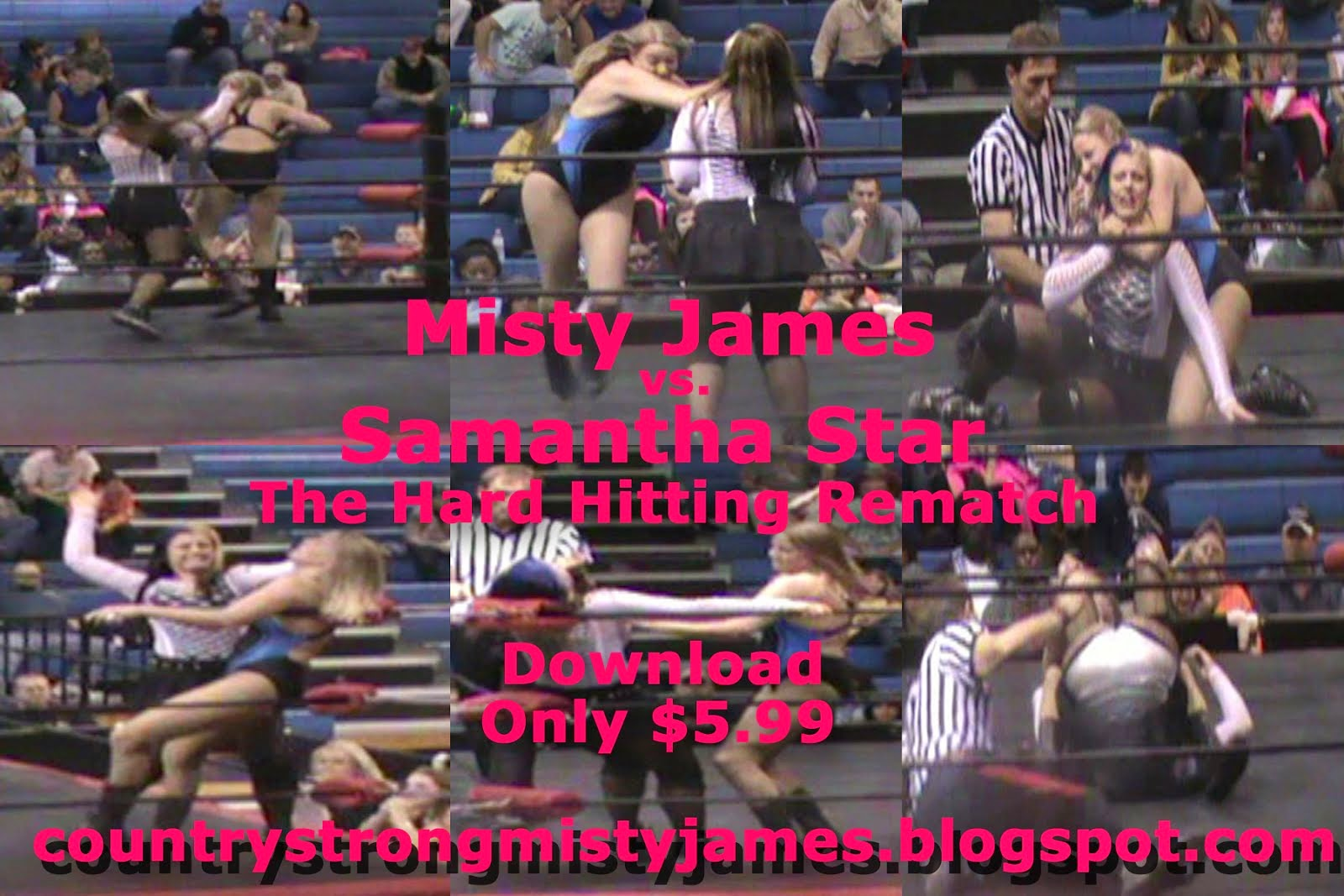 Misty James vs. Samantha Star Rematch
