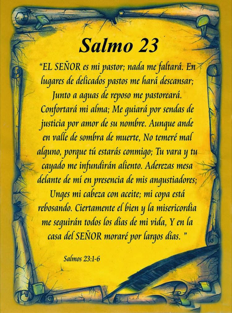 Excepcional Aprendiendo la Sana Doctrina: SALMO 23 VE21