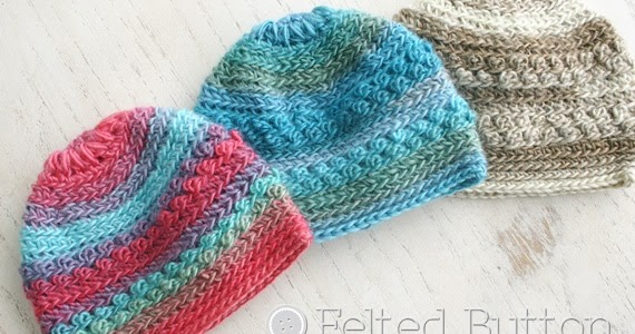... - Colorful Crochet Patterns: Only Just Born Hat Free Crochet Pattern