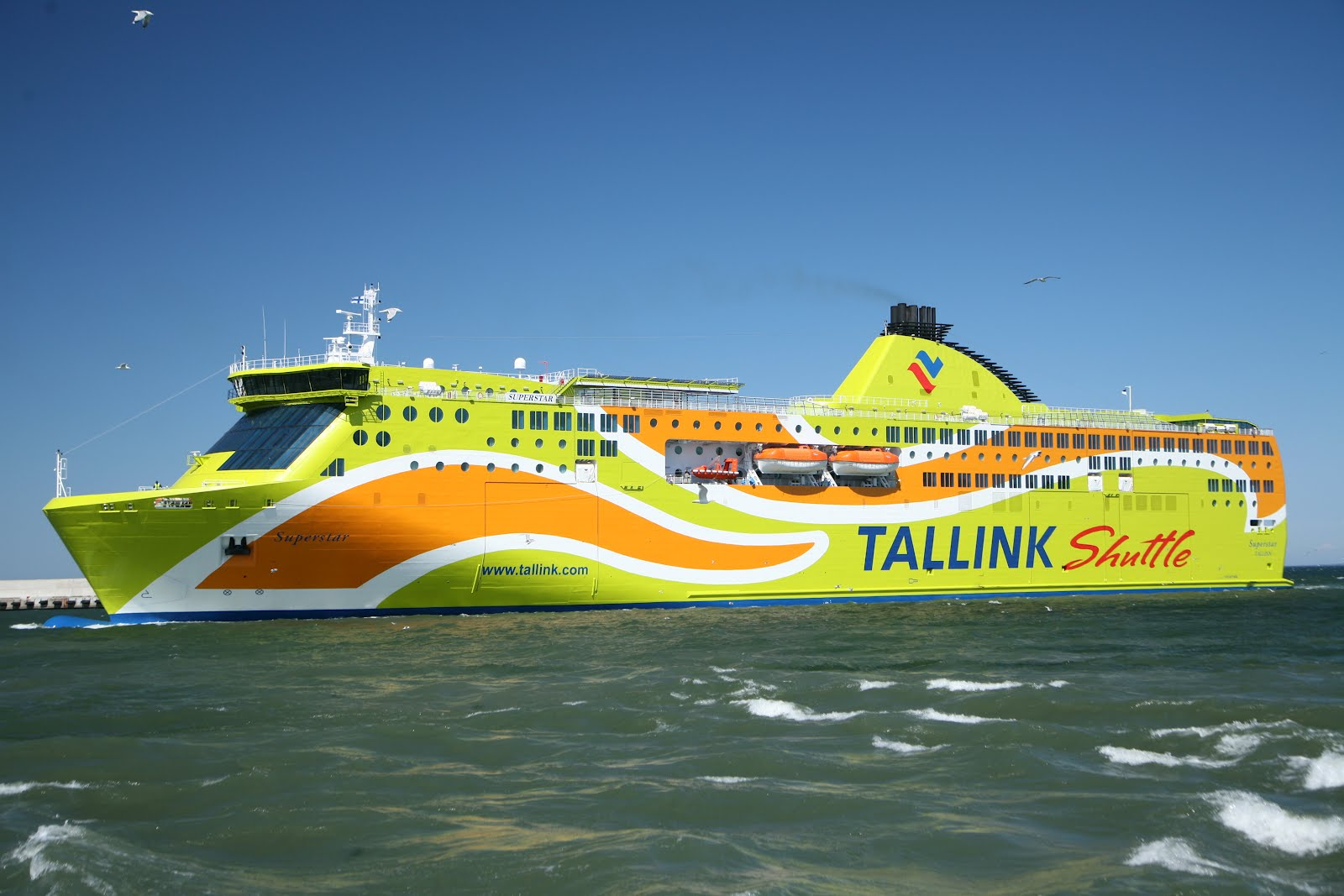 Tallink Superstar in bay Of Finland