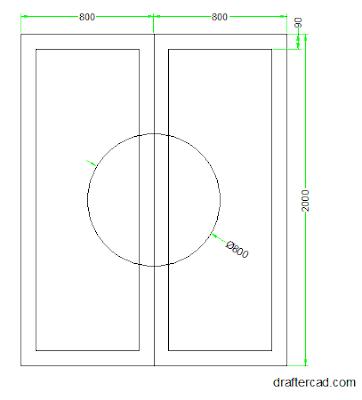 Langkah 3 - Buat offset 90