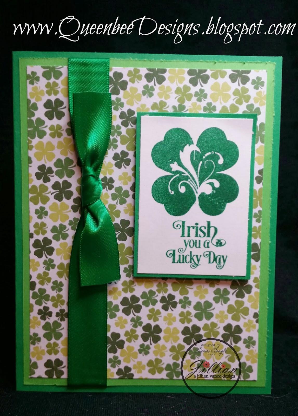 A Jillian Vance Design Irish You A Lucky Day Card