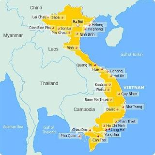 Khoảng cách đường bộ giữa các tỉnh thành Việt nam 1