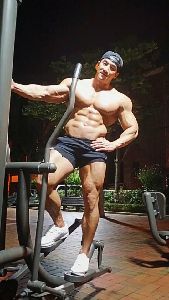 Lee Seung Chul Bodybuilder