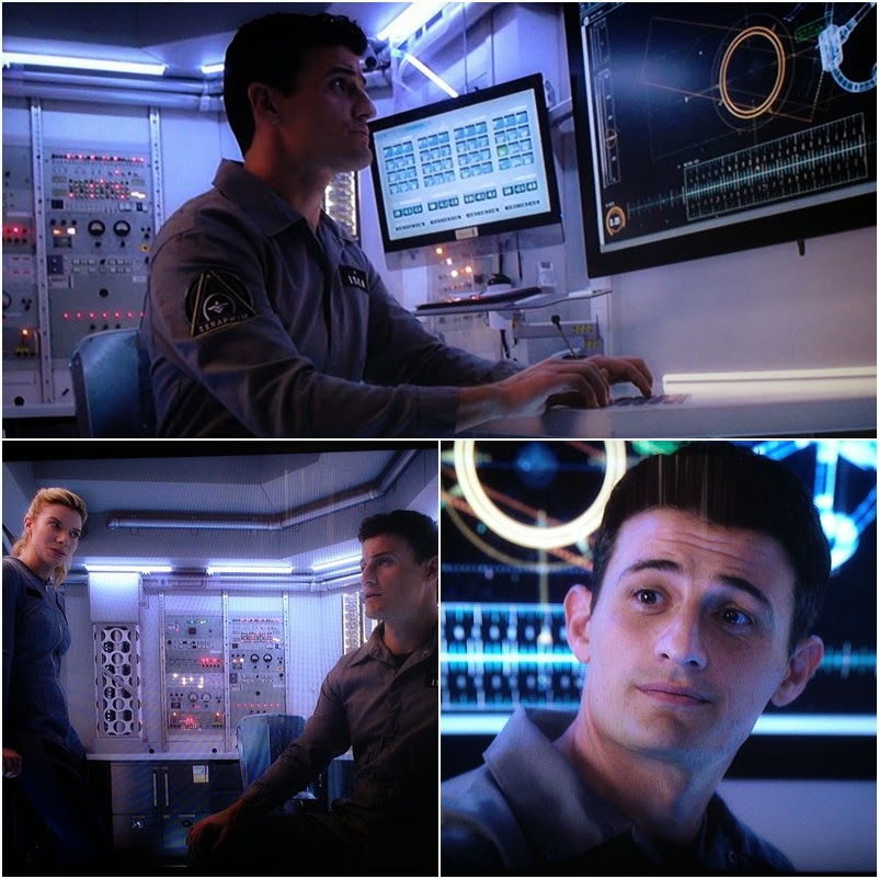 "Enver Gjokaj in ""Extant"" as Sean Glass"