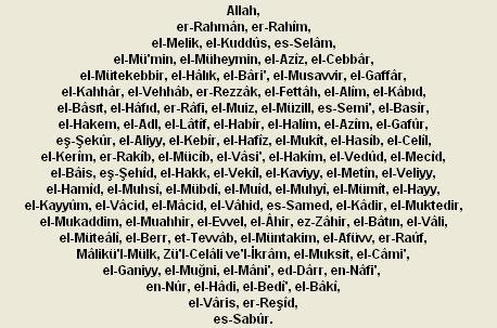 Skender Bey Allahn 99 Ismi Ile Mitolojideki Tanrlar Aras Bir Balant Var Mdr