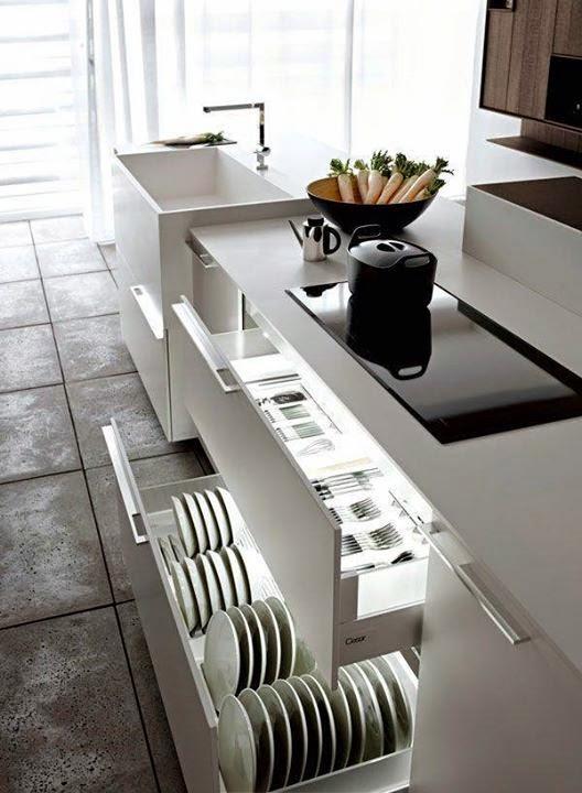 Kitchen Drawer Design Ideas