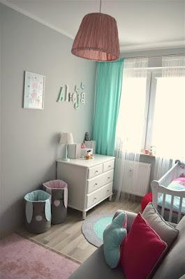 pokój dziewczynki, pokój dziewczęcy, paatelowy pokój, girls room