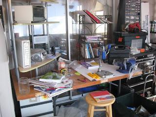 mess, disorganization, hell
