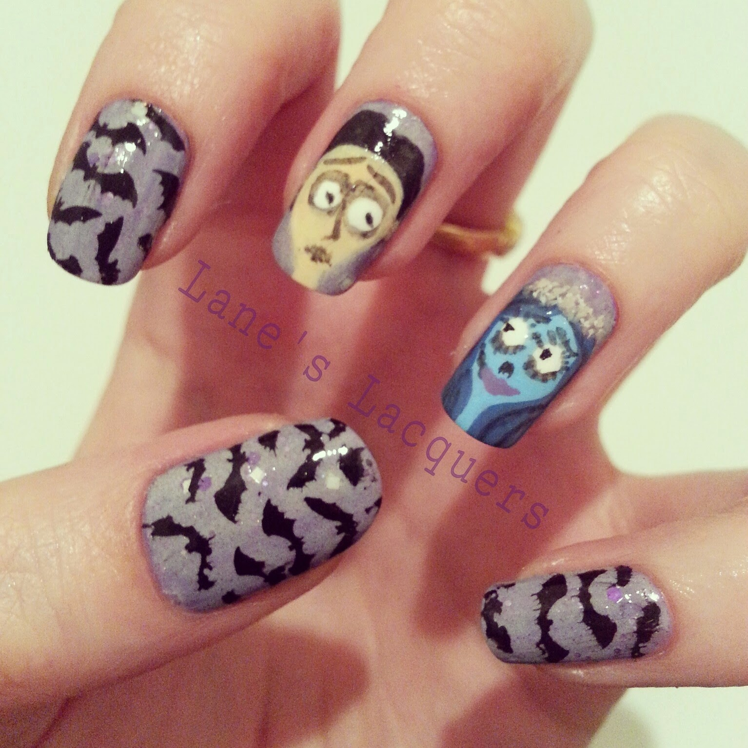 fingerfood-theme-gothic-the-corpse-bride-manicure