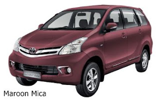 warna new avanza