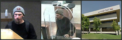 Sacramento Police and FBI search for bank robber