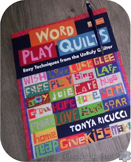 Word Play Quilts book by Tonya Ricucci