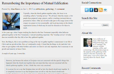 Alan Knox's website