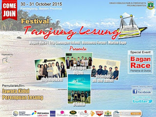 Akhir Oktober, Banten Gelar Festival Tanjung Lesung