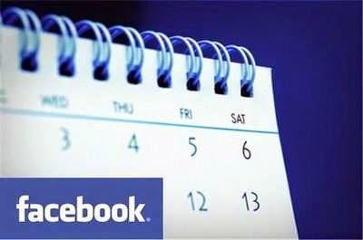 Calendario Eventos en Facebook