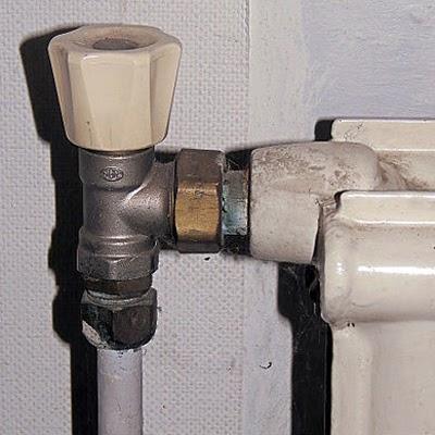 Radiatorkraan vervangen door thermostaatkraan