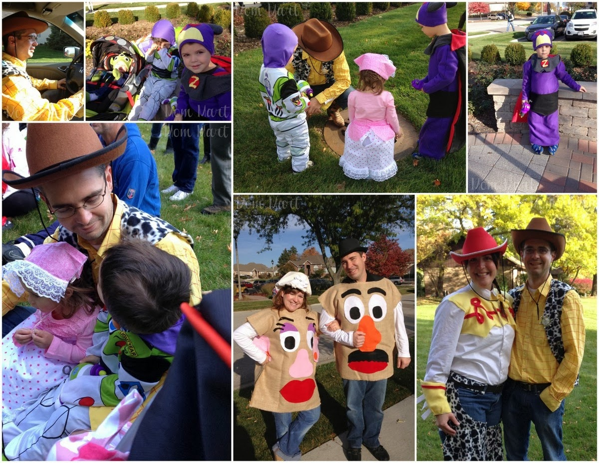 family toy story halloween costume theme