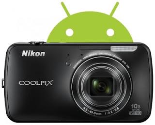 Nikon Android camera, Nikon Coolpix S800c android camera, new Nikon
