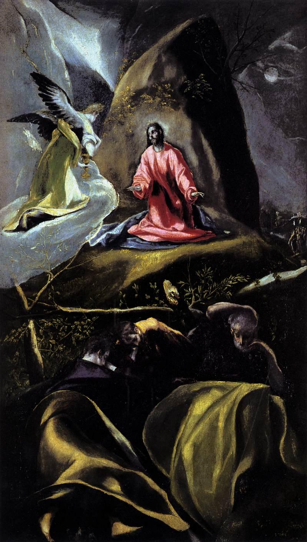 Studio of El Greco  The Agony in the Garden of Gethsemane