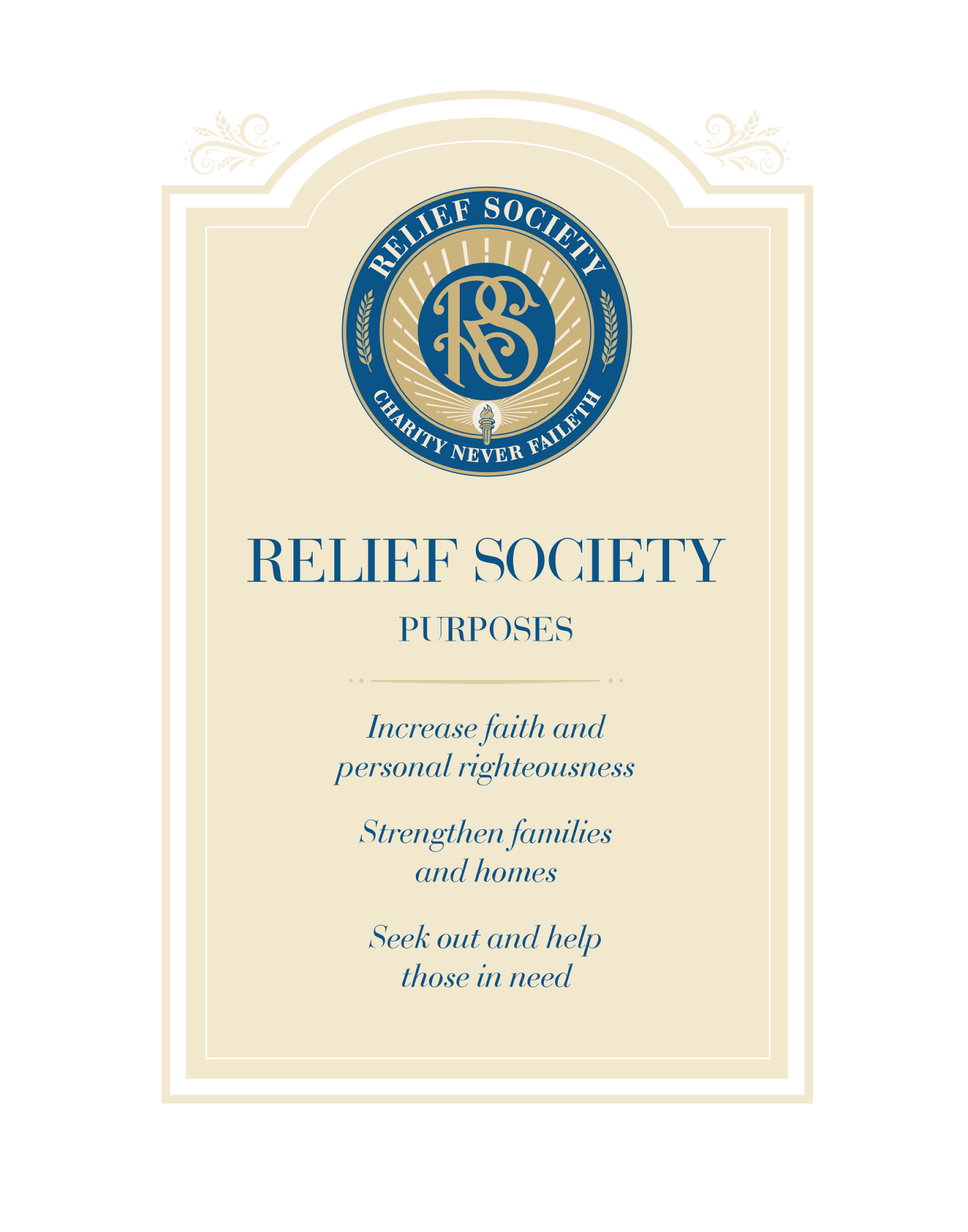Didi @ Relief Society: New Relief Society bookmark and poster