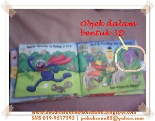 Softbook Where Elmo muka surat 5-6